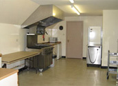 Hall Kitchen With Spacious Working Conditions
